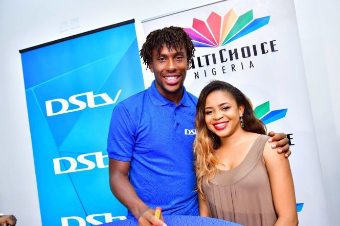 Alex Iwobi and Elsie Godwin - elsieisy blog
