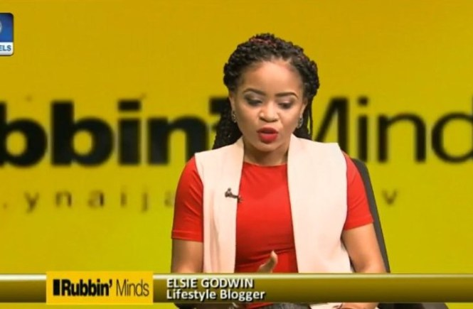 Elsie Godwin on Rubbin Minds on ChannelsTV - elsieisy blog