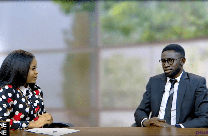 Elsie Godwin and Osagie Alonge on Plus TV Africa - elsieisy blog