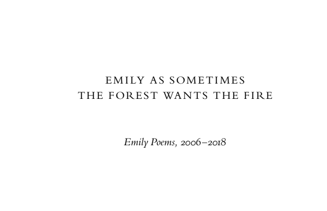 emily poems - elsieisy blog