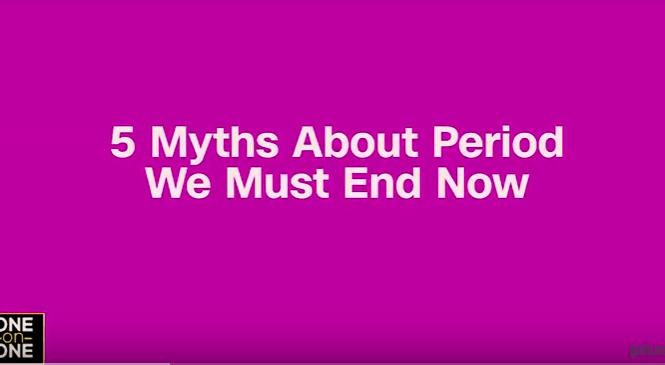myths on period - elsieisy blog