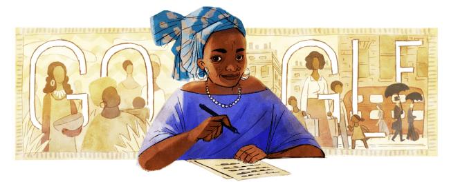 Buchi Emecheta google doodle - elsieisy blog