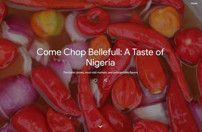 Google celebrates Nigerian food culture with the world - elsieisy blog