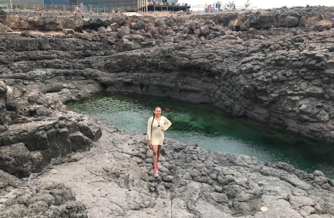 Elsie Godwin in Buracona, Sal, Cape Verde - elsieisy blog