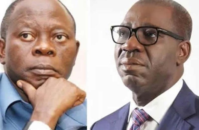 Obaseki and Oshiomhole - elsieisy blog