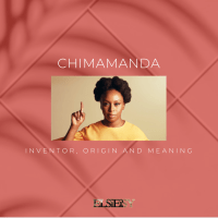 Chimamanda: Name  Inventor, Meaning and Origin