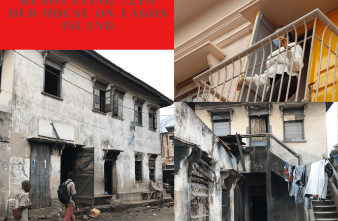 Renovating a 72-Year-Old House on Lagos Island | Open House Lagos | Architecture Nigeria