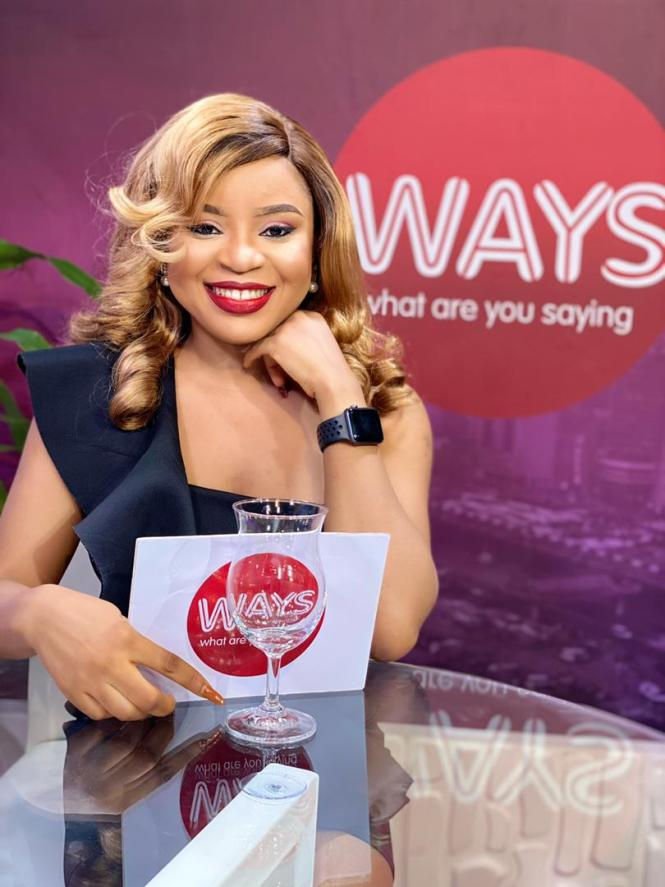 Elsie Godwin on WAYS Show set on Plus TV Africa - elsieisy blog