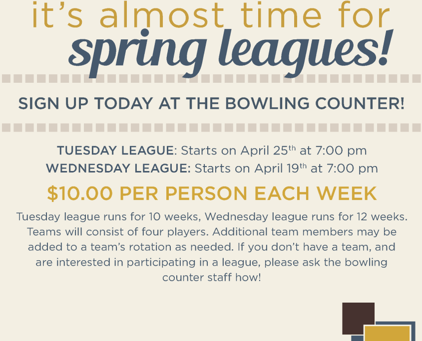 Spring Leagues