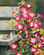 country-garden-wren-and-petunias-art-print-by-susan-bourdet-1085100047