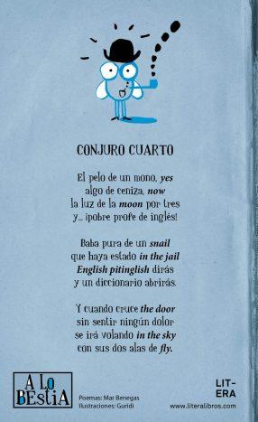 Conjuro A lo bestia. Libro de poesía infantil +9 años.