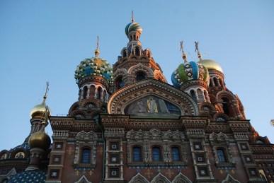 Kerk van de Verlosser op het bloed Sint Petersburg