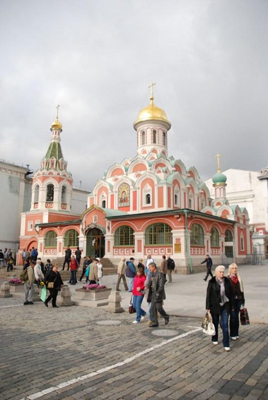 Kazan kathedraal Moskou