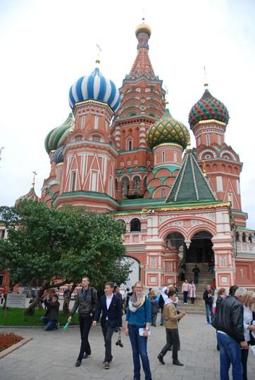 Sint Basil kathedraal Moskou poging 3