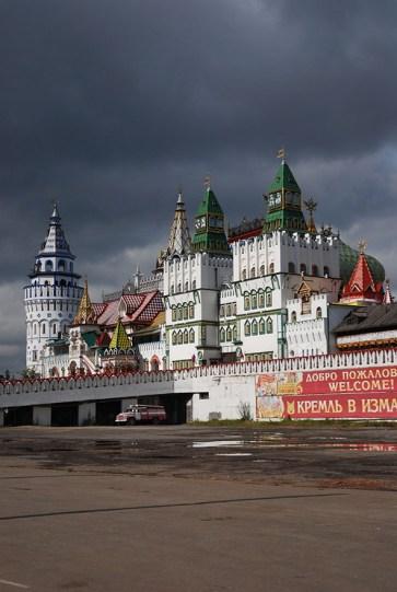 Kremlin van Izmailovo Moskou