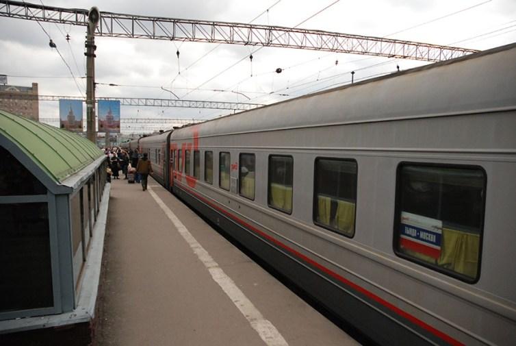 Trein Moskou naar Novosibirsk TransSiberië Express