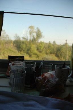 Leven in de trein TransMongolië express