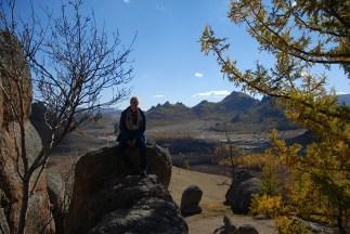 Terelj nationaal park uitzicht