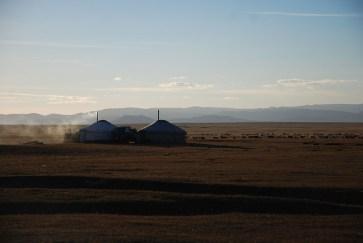 Ger kamp Mongolië