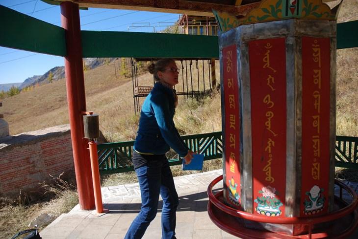 Gorkhi Terelj nationaal park klooster wiel
