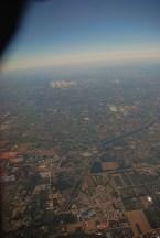 China vanuit het vliegtuig