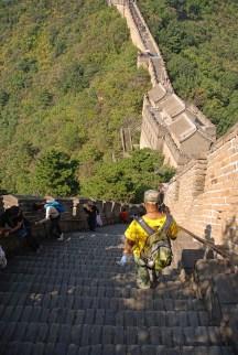 Chinese muur Mutianyu trappen