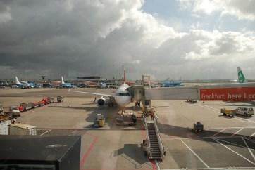 Vliegtuig Schiphol naar Shanghai