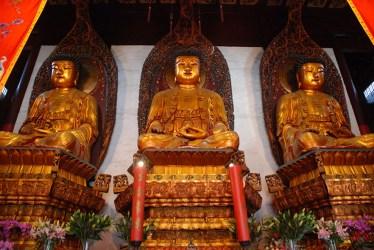 Jade boeddha tempel Shanghai binnenkant