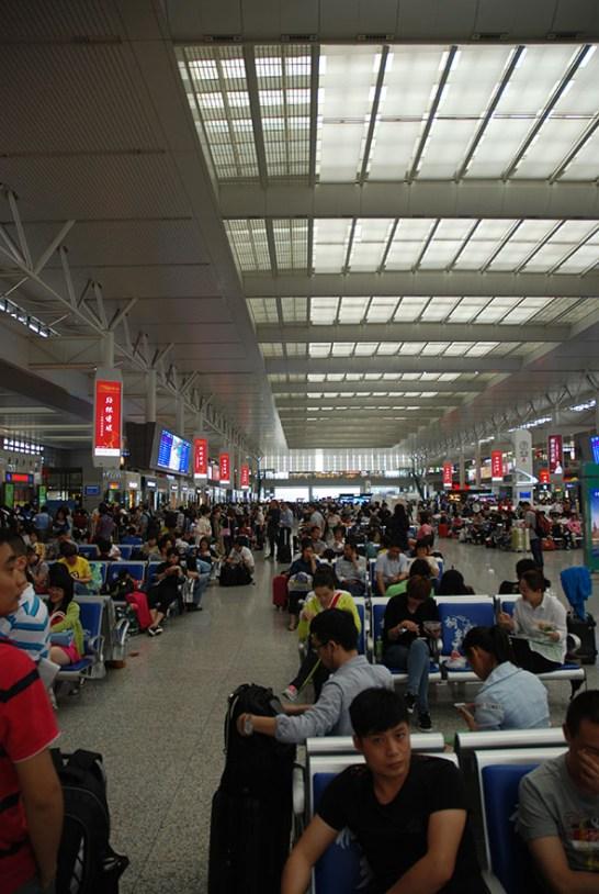 Shanghai Hongqiao treinstation China