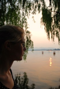 West Lake Hangzhou Els op Reis