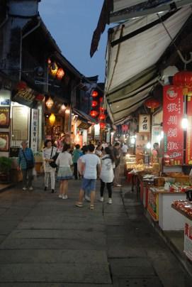 Tunxi Old street China winkeltjes