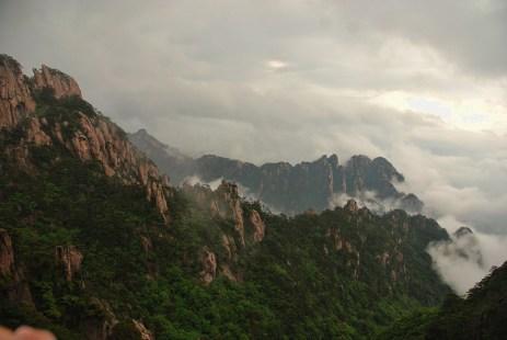Huangshan Gele bergen
