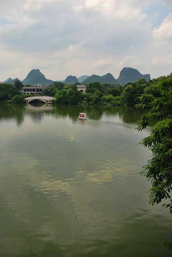 Ronghu lake Guilin