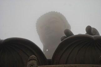 Big boeddha Tian Tan Po Lin klooster Hong Kong