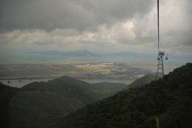 Kabelbaan Ngong Ping 360 Hong Kong uitzicht
