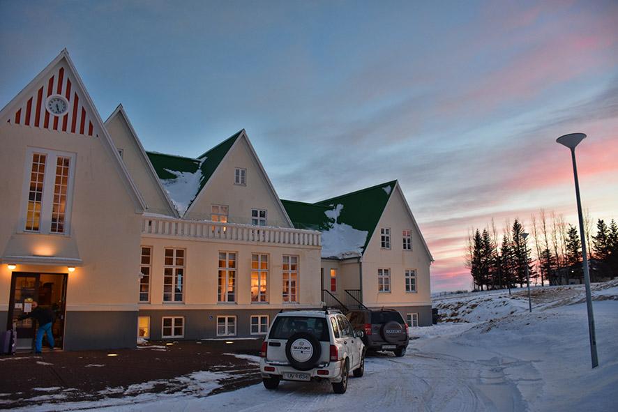 Héraðsskólinn hostel Laugarvatn IJsland