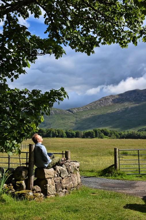 Bartek in Schotland