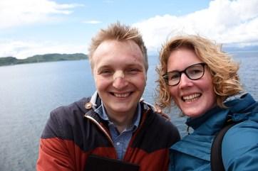 Op de ferry naar Isle of Mull