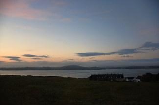 Vroege ochtend op Iona Schotland