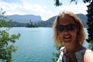 Selfie in Bled