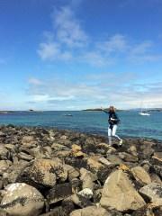 Lunga eiland Schotland