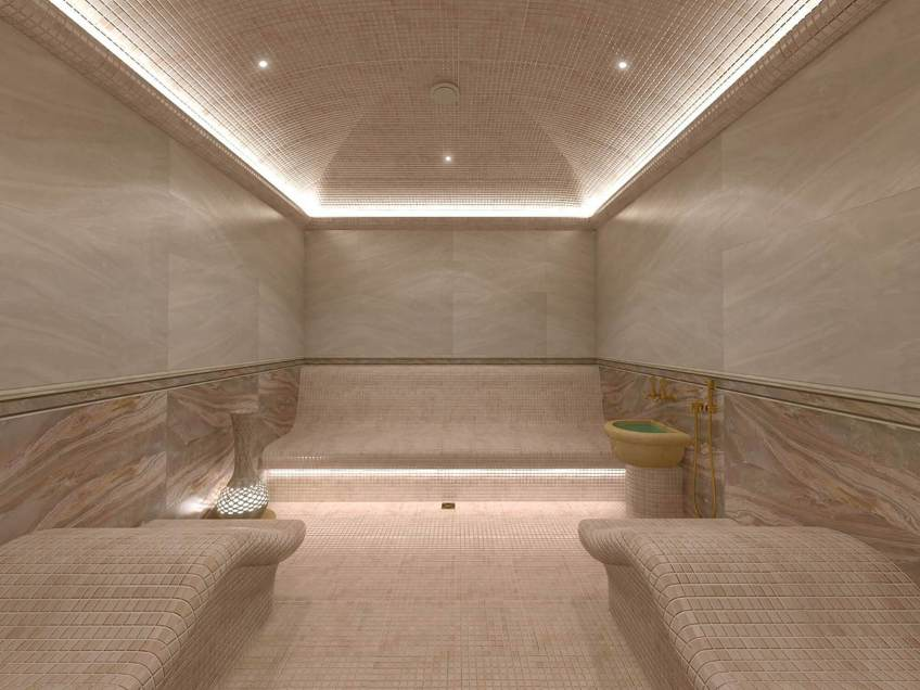 Steam-room-with-Luminous-lighting