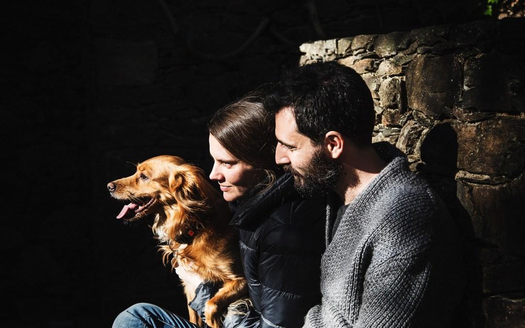 Fotógrafo de mascotas «10 años juntos, Buster, Teresa & Alex»