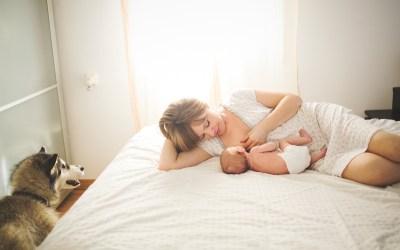 Fotógrafo de Mascotas: «Eidan y su sesión newborn»