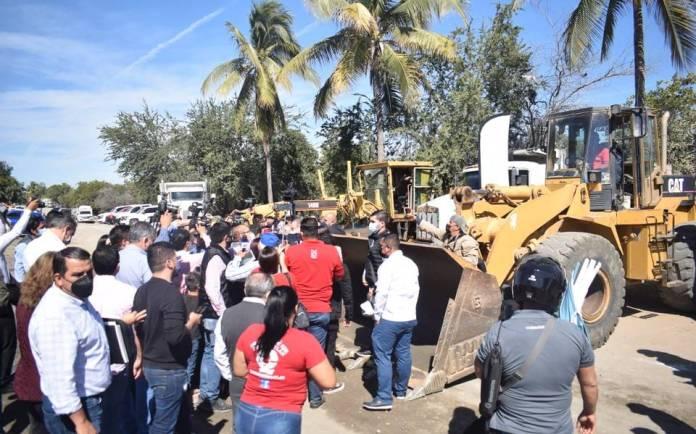 Inician pavimentación del malecón de los pobres - El Sol de Mazatlán    Noticias Locales, Policiacas, sobre México, Sinaloa y el Mundo