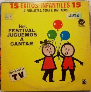 Discos de vinilo de música infantil