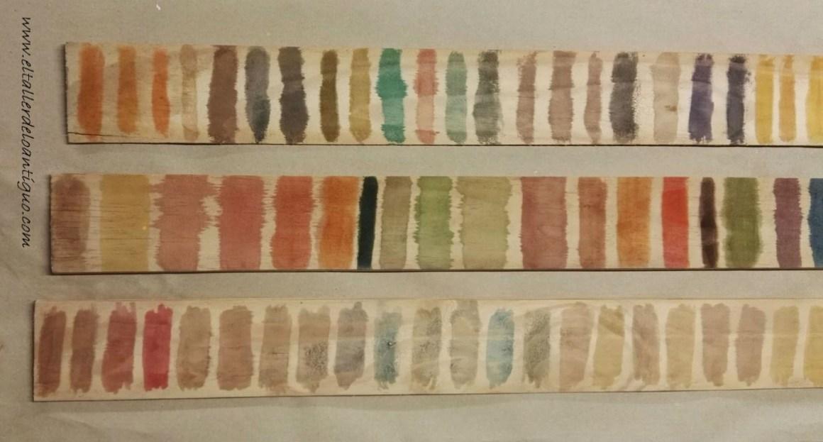 Como hacer tintes imitaci n madera el taller de lo antiguo - Tinte para madera casero ...