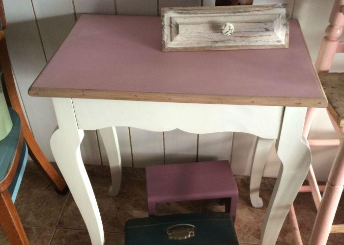 Shabby chic pintar sillones de colores el taller de - Pintar muebles de colores ...