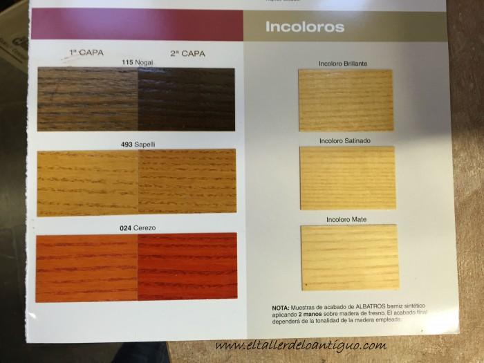 Como hacer tintes imitaci n madera el taller de lo antiguo - Cual es el color ocre ...