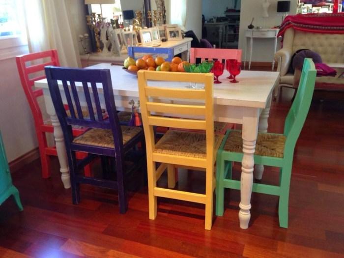 Uso del color para asignar roles en la familia